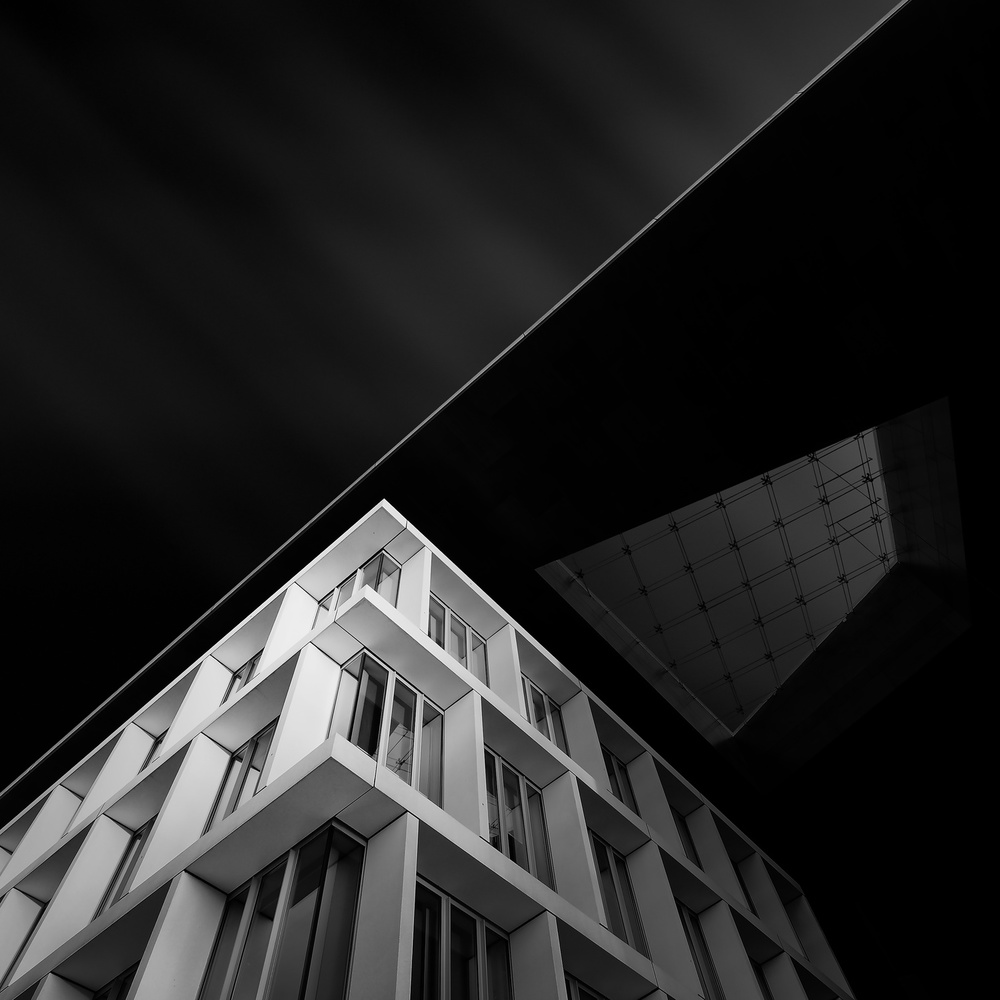 A piece of fine art art photography titled Triangles   Quadrangles by Gediminas Karbauskis