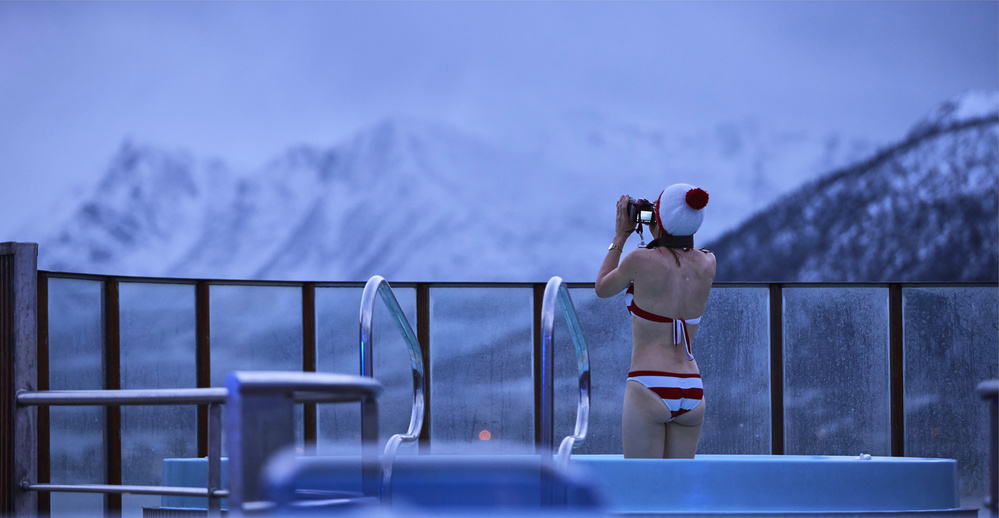 View this piece of fine art photography titled Jacuzzi photo session by Julien Oncete