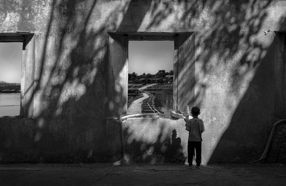 A piece of fine art art photography titled The Way Back Home by Ekkachai Khemkum