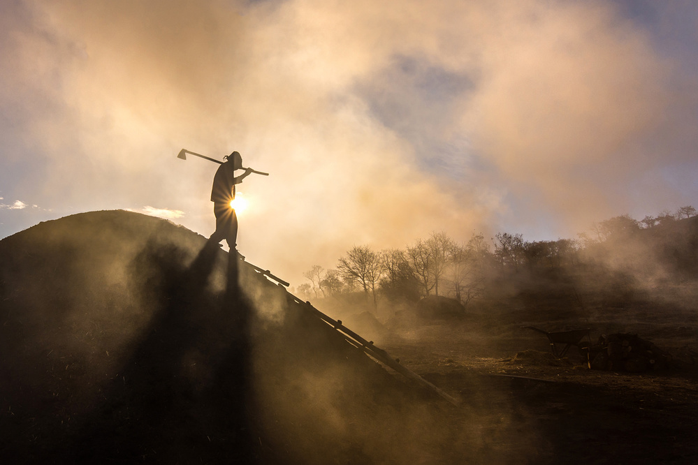 View this piece of fine art photography titled Coal Miner by Mustafa Cebecioglu