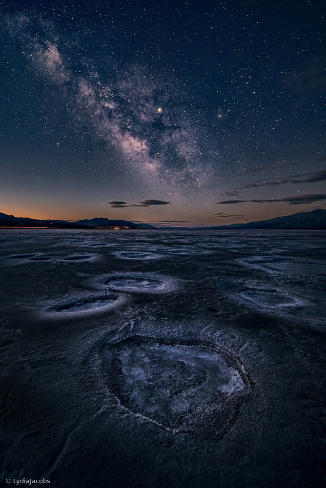 View this piece of fine art photography titled Starry Night at Death Valley by Daniel Fleischhacker
