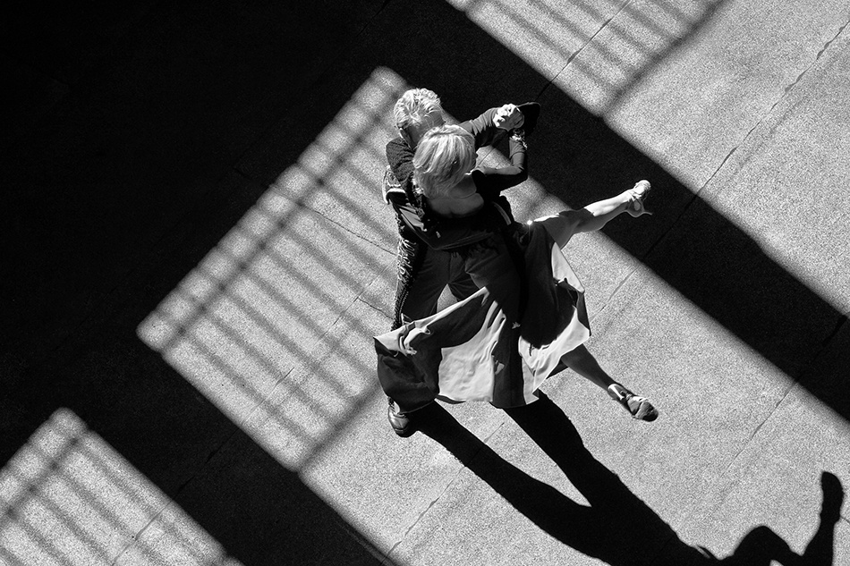A piece of fine art art photography titled The Art of Dancing by Andreas-Joachim Lins