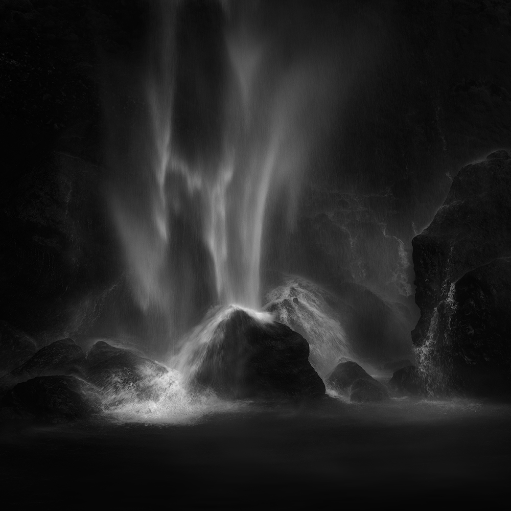 A piece of fine art art photography titled Elowah Falls by Shenshen Dou