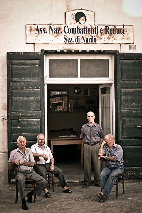 A piece of fine art art photography titled Once Were Warriors by Matteo Mignani