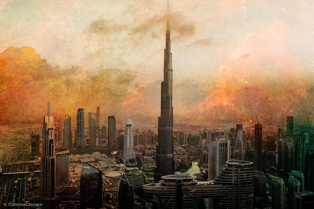 View this piece of fine art photography titled Burj Khalifa by Carmine Chiriaco