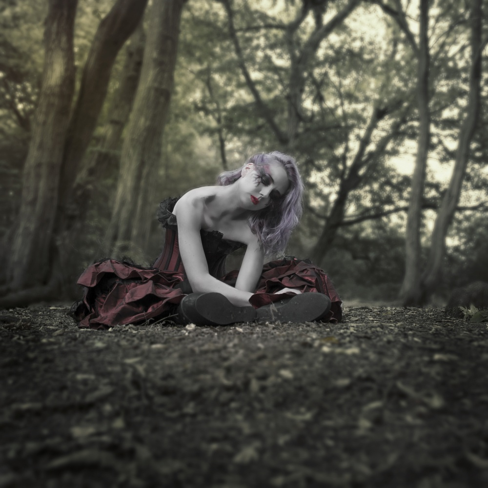 A piece of fine art art photography titled Just Where You Left Me (AKA - Broken Doll) by Marcos Gali