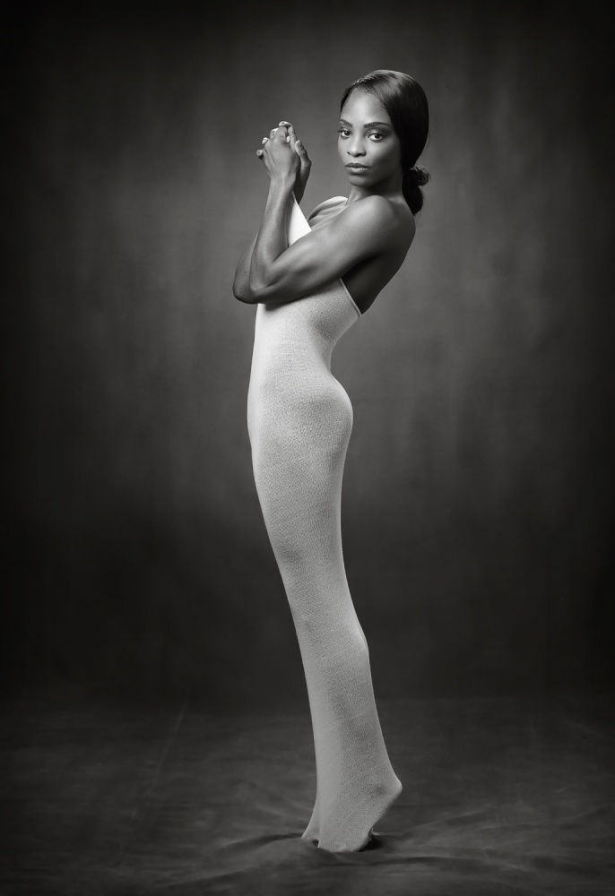 A piece of fine art art photography titled Body Sock by Ross Oscar