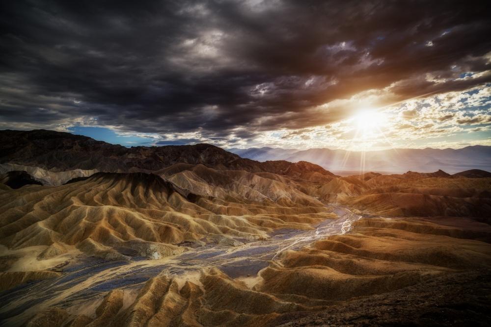A piece of fine art art photography titled Death Valley by Juan Pablo de Miguel