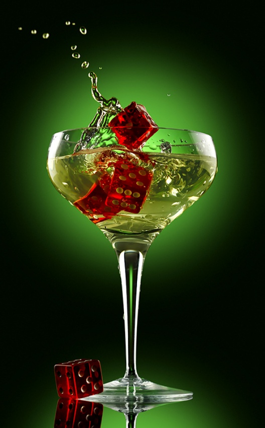 A piece of fine art art photography titled Champagne by Tamas Balogh