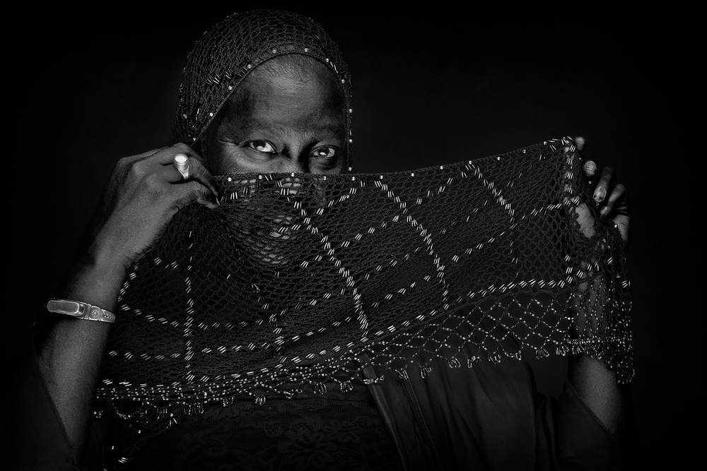 A piece of fine art art photography titled Senegal by Joan Gil Raga