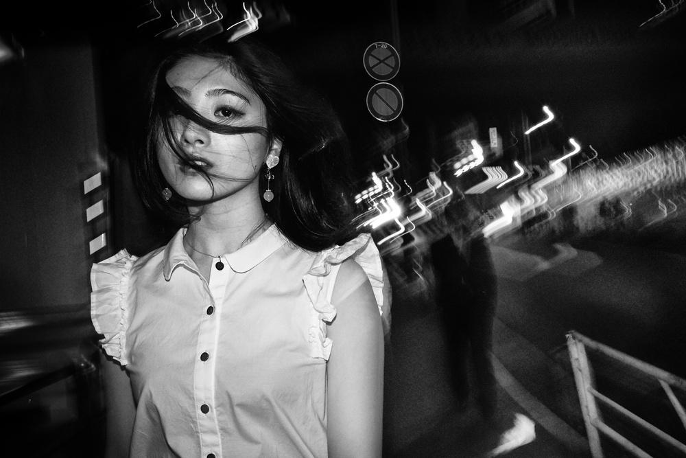 A piece of fine art art photography titled Risa by Ash Shinya Kawaoto