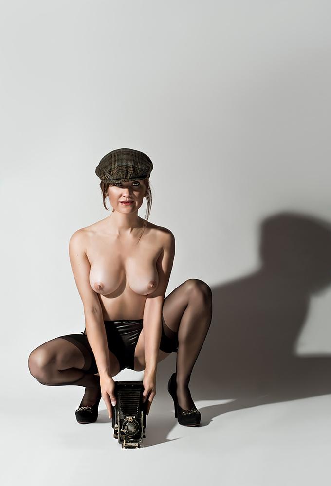 A piece of fine art art photography titled She Shot Me Down No18 - Bremen/Germany 2011 by Robert Komarek