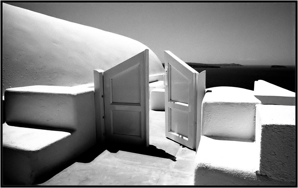 A piece of fine art art photography titled GR1611 Opened Door by Luu Nguyen Viet-Tuan