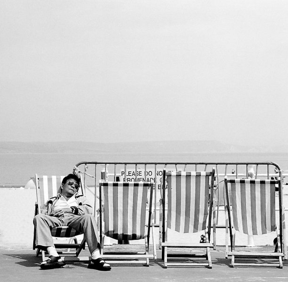 A piece of fine art art photography titled Elvis Chilling by Ian James