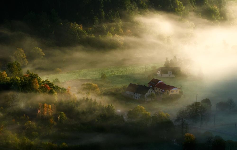 A piece of fine art art photography titled Morning Light by Piotr Krol (Bax)