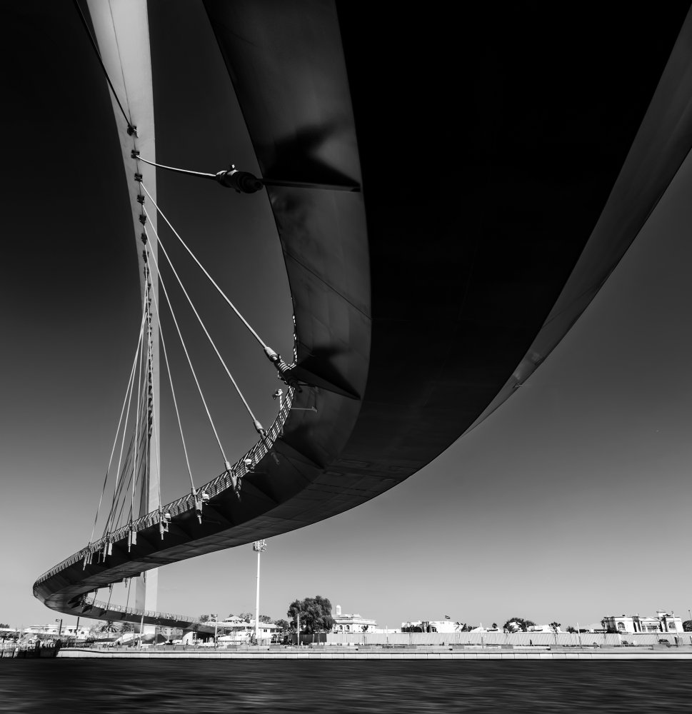 A piece of fine art art photography titled Curve 2 by Wael Onsy