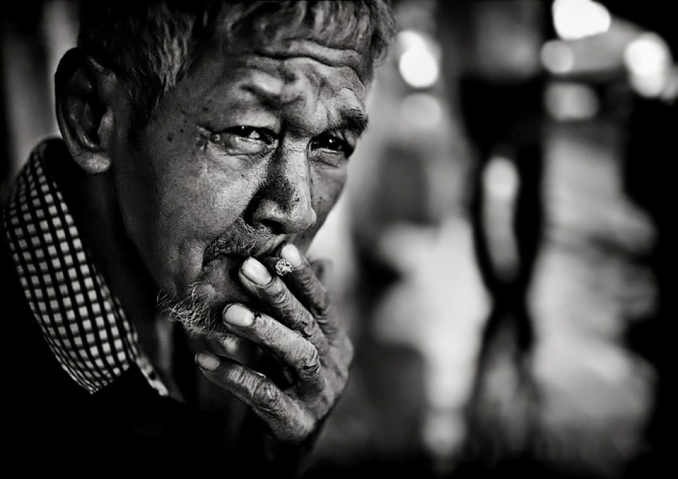 A piece of fine art art photography titled Street Life Bangkok by Max