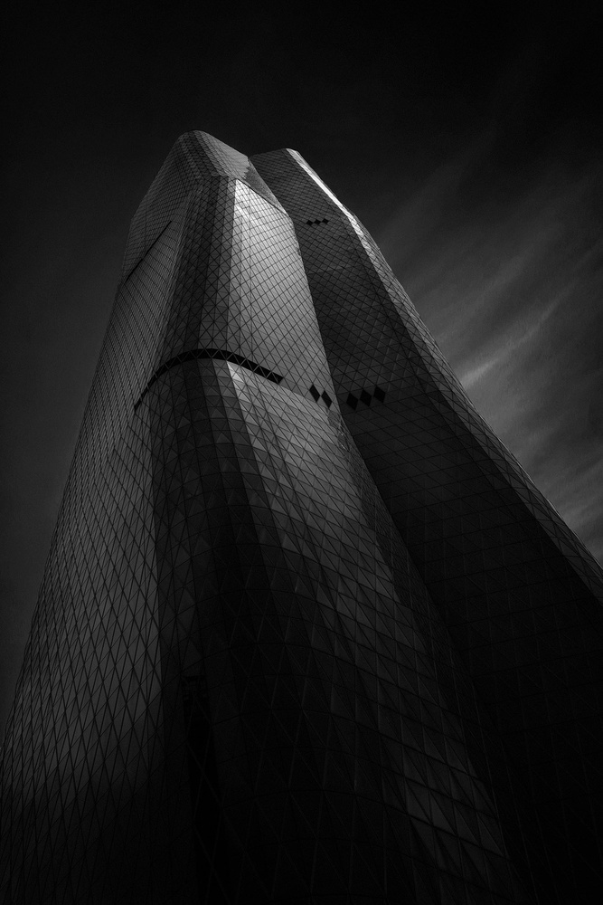 A piece of fine art art photography titled The Tower by teddy hariyanto