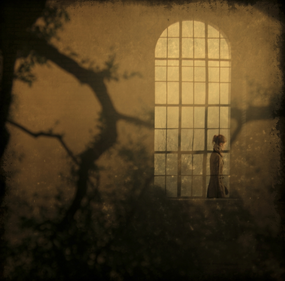 A piece of fine art art photography titled When She's Gone by Anja Buehrer