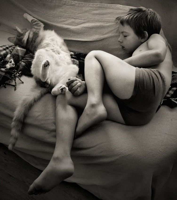A piece of fine art art photography titled Friends by Patricia
