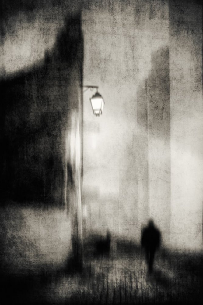 A piece of fine art art photography titled There Is a Dark That We Should't Doubt by Charlaine Gerber