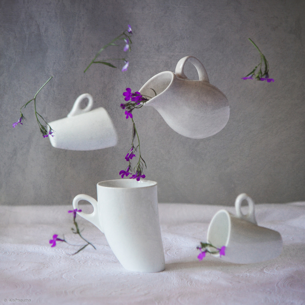 View this piece of fine art photography titled weird tea party 1 by Denisa VLAICU