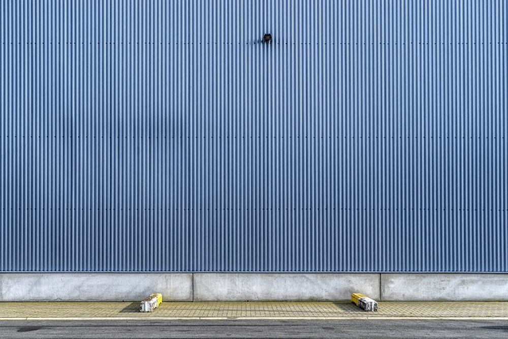 A piece of fine art art photography titled The Triangle of Nothingness by Susanne Stoop