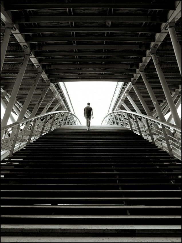 A piece of fine art art photography titled Paris II: La Lumière by sensorfleck
