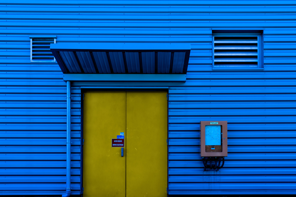A piece of fine art art photography titled Reserved Access by Jois Domont ( J.L.G.)