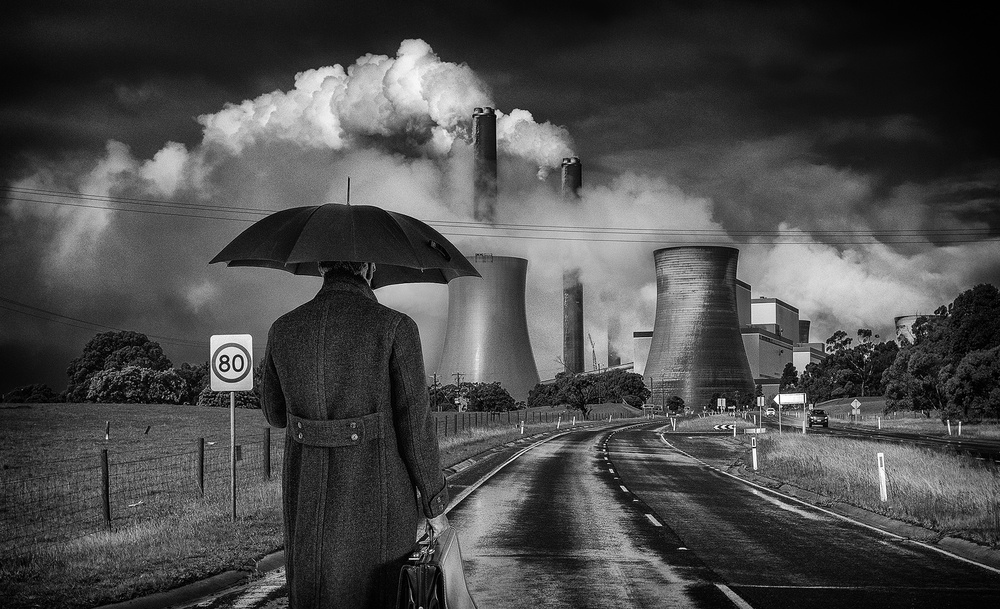 A piece of fine art art photography titled End of Days by Adrian Donoghue