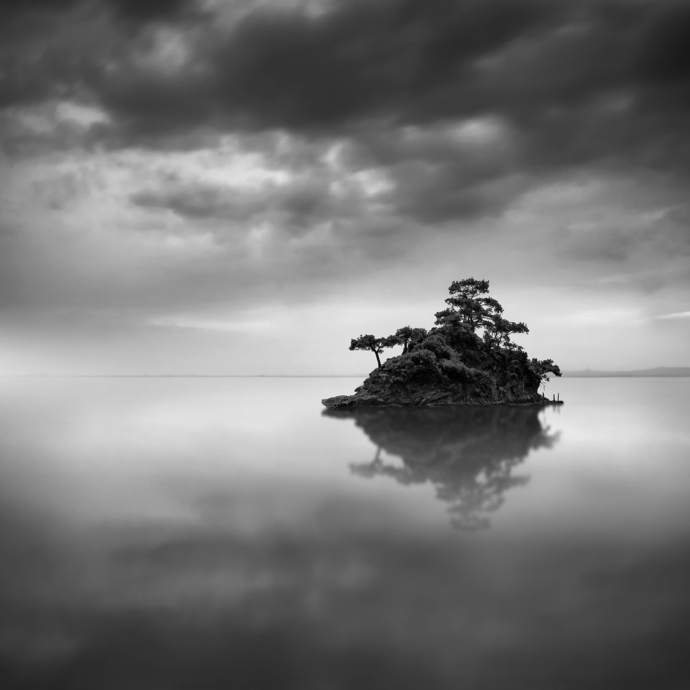 A piece of fine art art photography titled The Island by George Digalakis