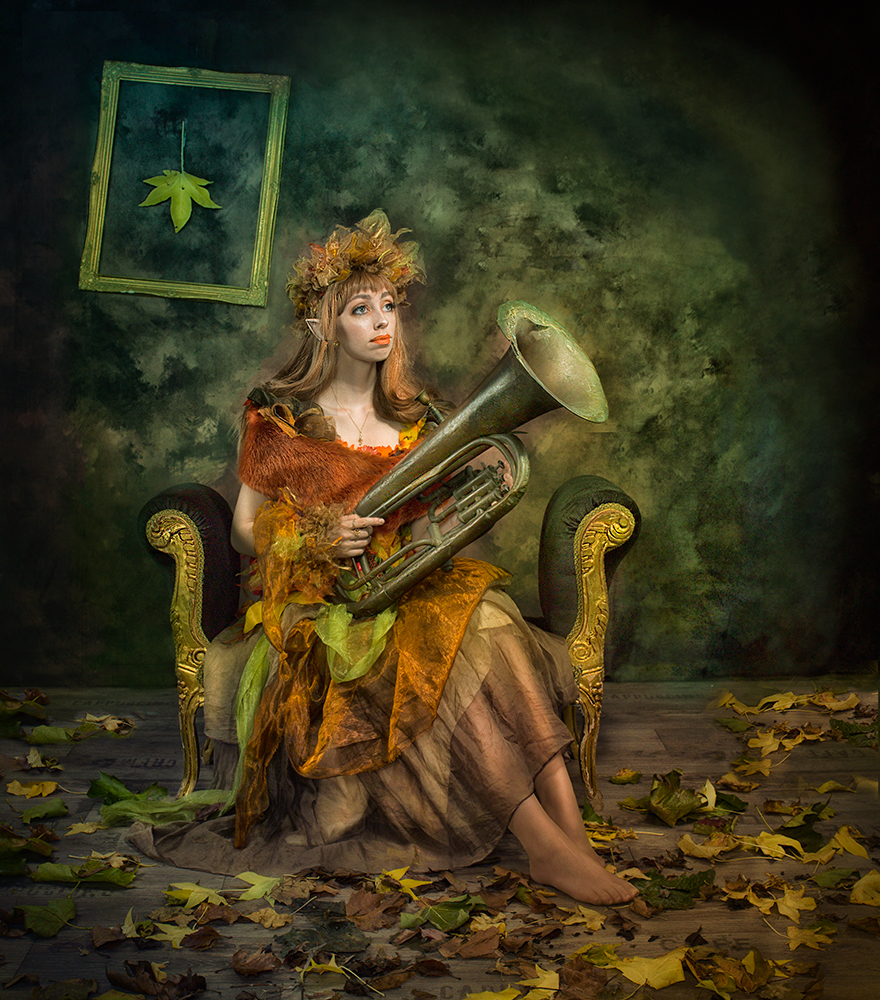 A piece of fine art art photography titled Autumn by Peter Kemp