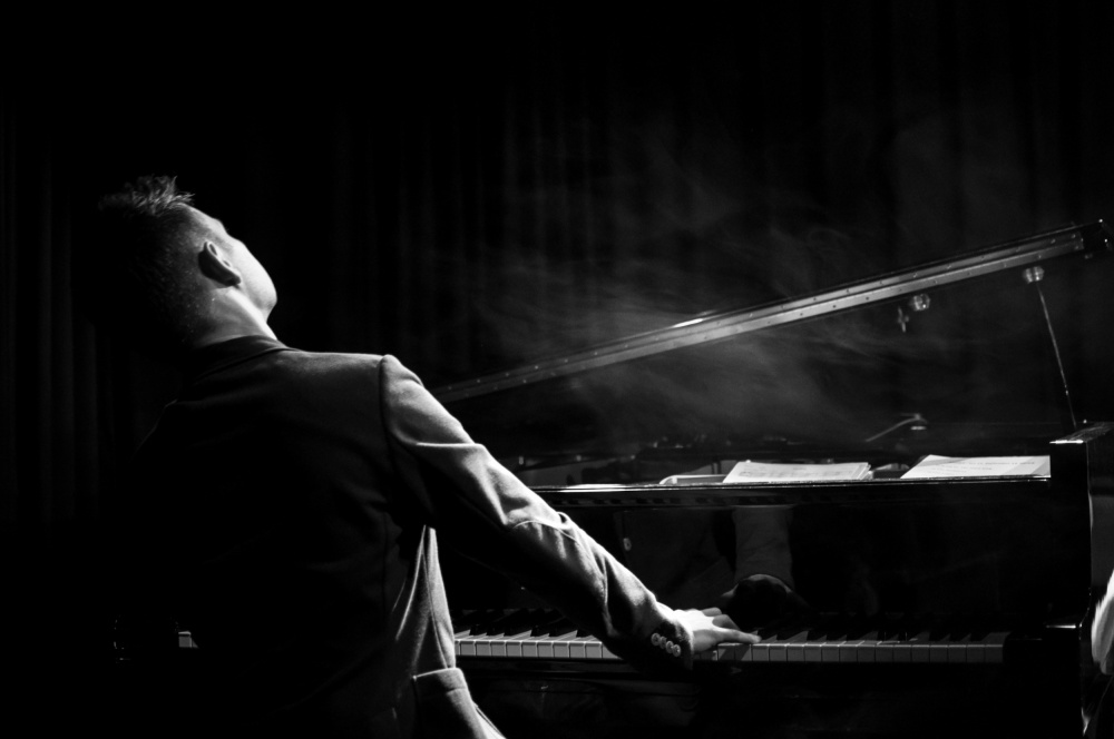 A piece of fine art art photography titled Pianist by Laura P.