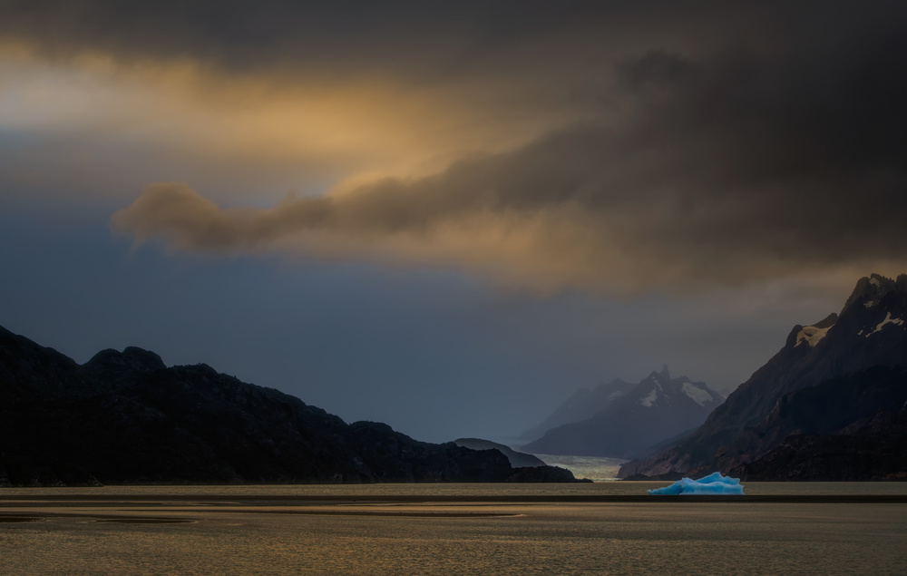 A piece of fine art art photography titled The Berg by Dennis Heckman