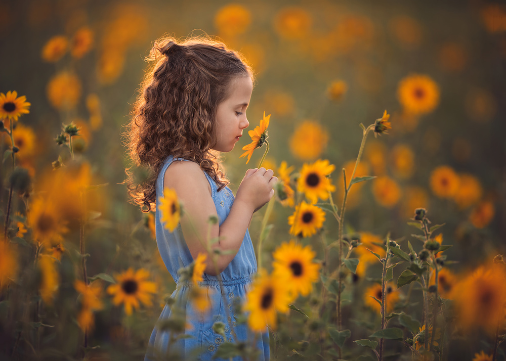 A piece of fine art art photography titled You Are My Sunshine by Lisa Holloway