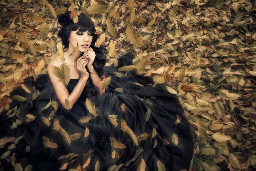 A piece of fine art art photography titled The Princess by teddy hariyanto