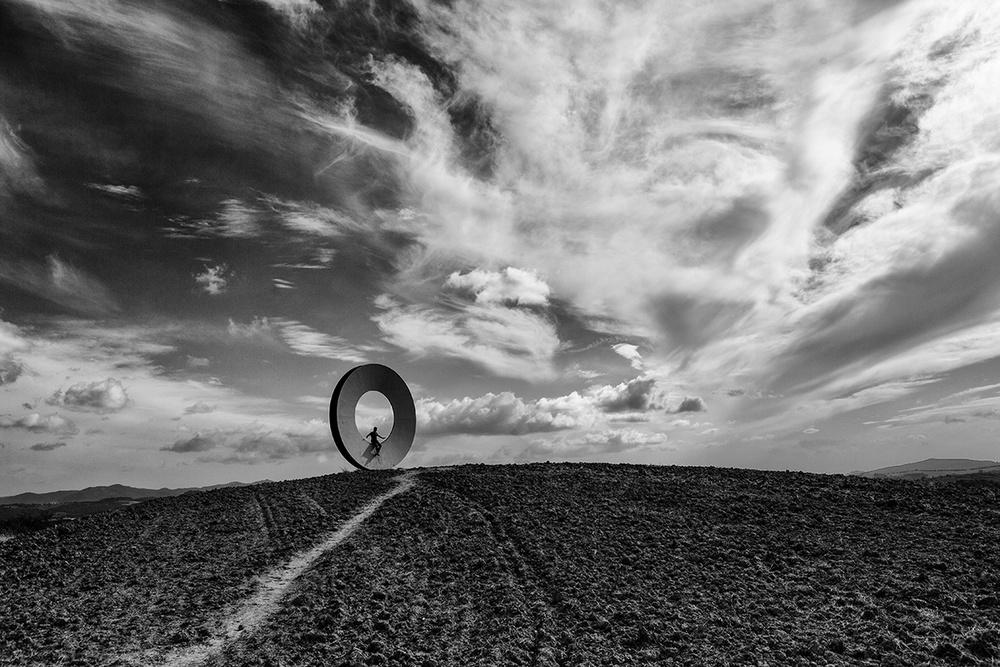 A piece of fine art art photography titled O by Massimo Della Latta