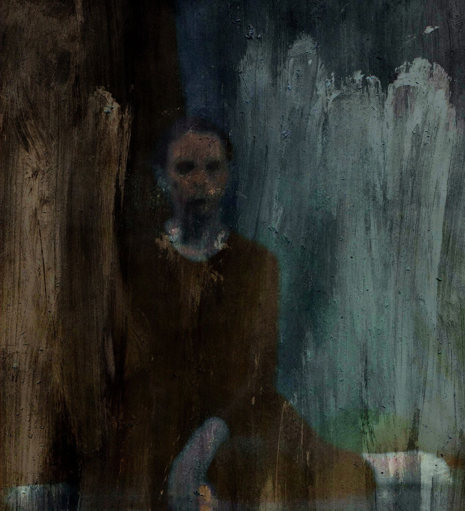 A piece of fine art art photography titled Shadows (portrait) by Dalibor Davidovic