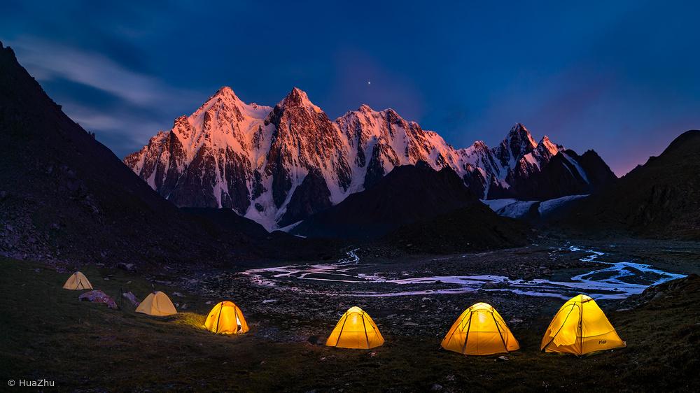 Camping at Bogda