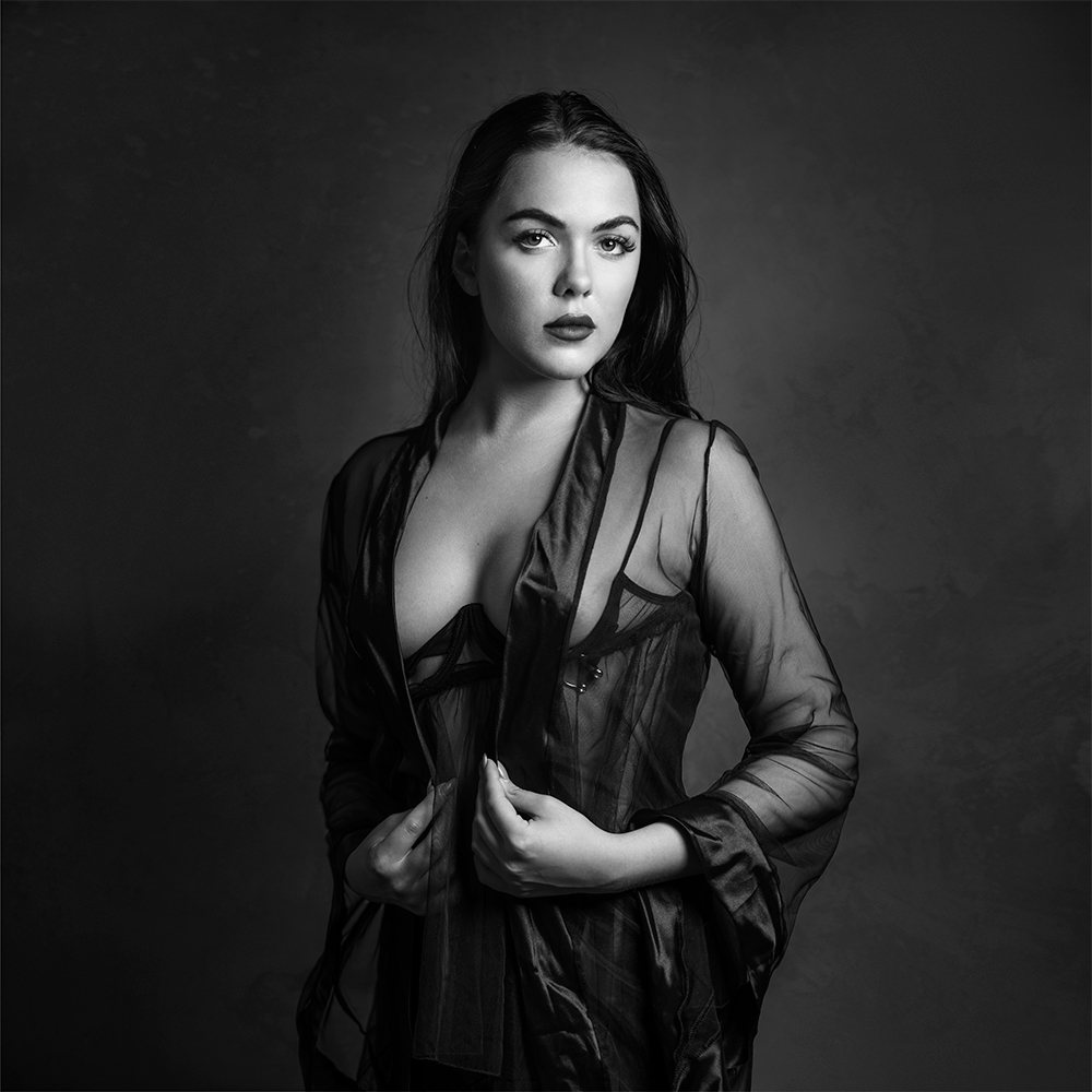 A piece of fine art art photography titled The Queen by Mike Darzi
