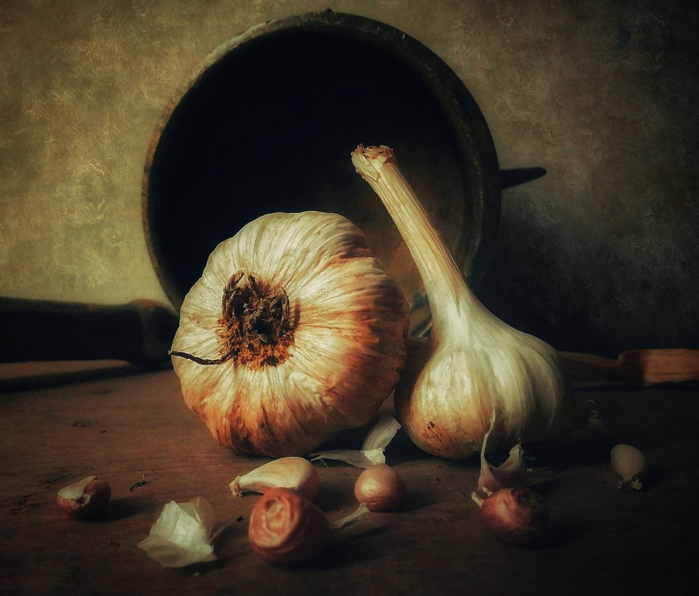 View this piece of fine art photography titled Garlic by Vadim Fedotov (Vadius)