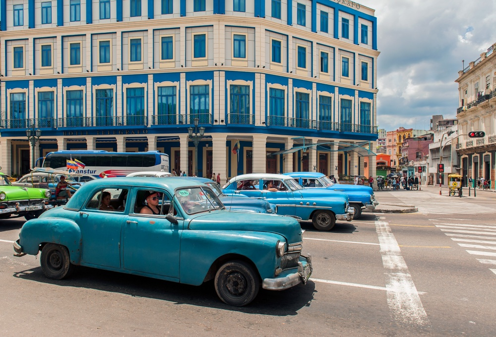 A piece of fine art art photography titled Cuba Ton Sur Ton by Edith Hoffman
