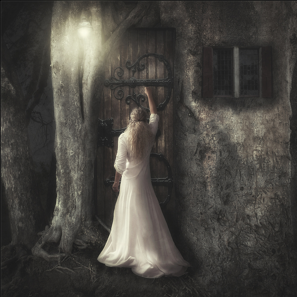 A piece of fine art art photography titled Where Are You by Arrianne Rijnaard