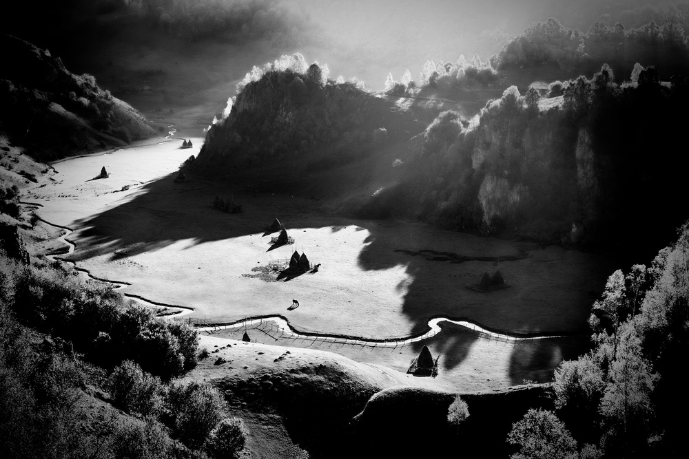 A piece of fine art art photography titled Heaven On Earth by Sebastiæn