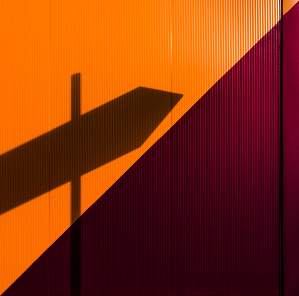 A piece of fine art art photography titled Minimalismus and Simplicity by minimalist
