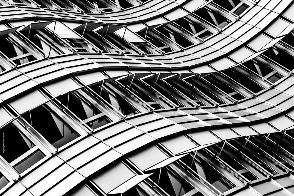 View this piece of fine art photography titled Zurich, WTC II by minimalist