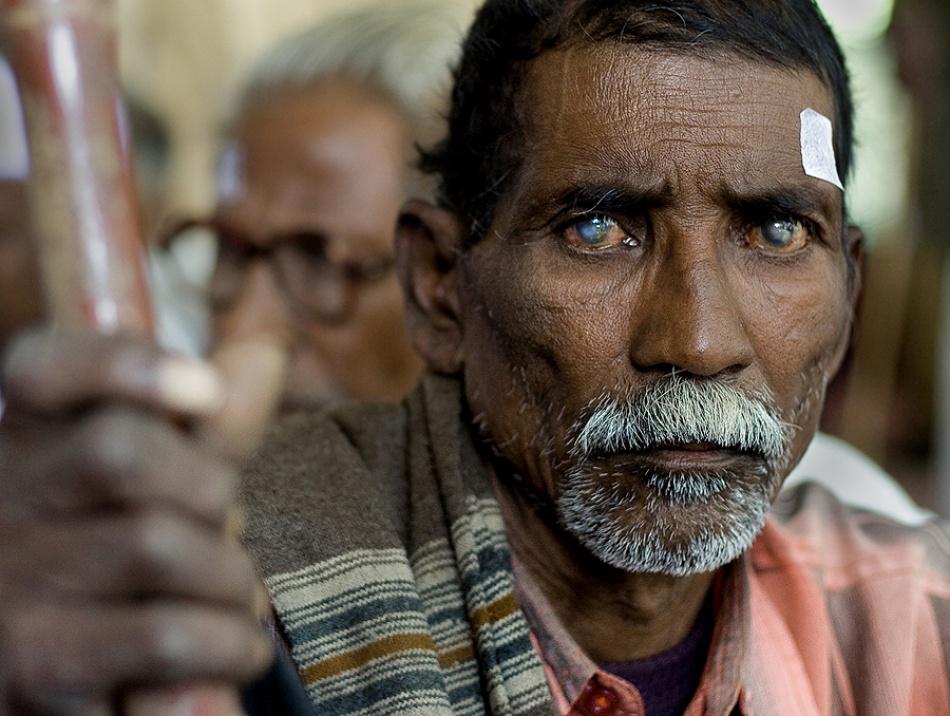 A piece of fine art art photography titled Eye Pupil by yogesh chiplunkar