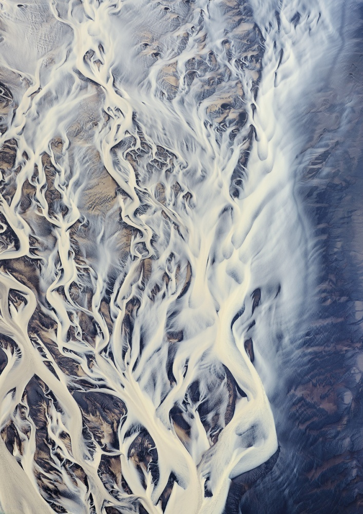 Aerial of Delta Rivers