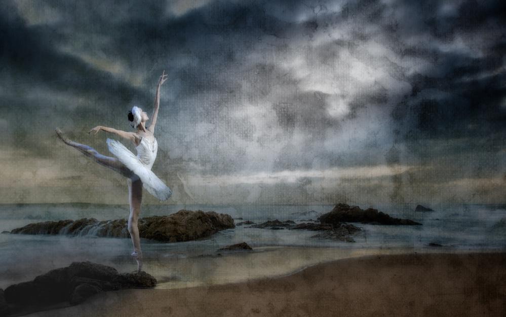 A piece of fine art art photography titled Dance Like Nobody's Watching by Peet van den Berg