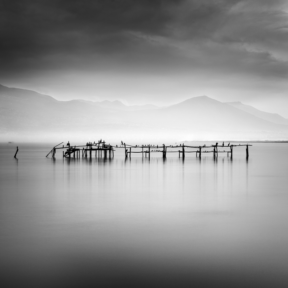 A piece of fine art art photography titled Silver Lake by George Digalakis